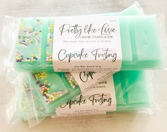 """Highly Scented Wax Melt, """"Cupcake Frosting"""" Wax Melt for Wax Warmer"""