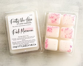 Pink Macaroon Clamshell