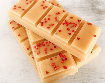 """Wax Melt, """"Apple Pie"""" Snap Bar, Highly Scented, Fall, Autumn, Home & Living, Fragrance, Christmas, Stocking Stuffer"""