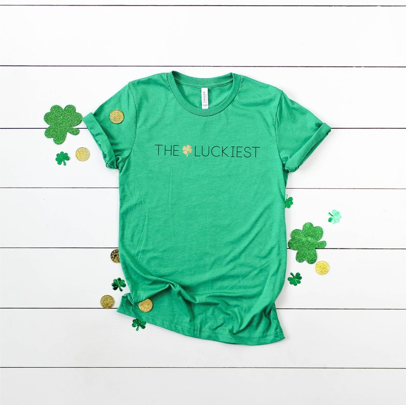 St. Patrick's Day T-shirts Matching Family  Lucky image 0
