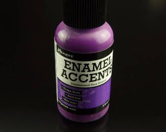 1 bottiglia dello smalto di Ranger accenti succo d'uva porpora (14 ml),5 fl oz