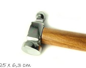 1 hammer made of steel, stamp, punch