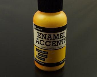 1 bottle Ranger Enamel Accents lemon Twist Yellow (14 ml). 5 fl oz