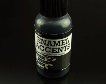 1 bottle Ranger enamel accents Black Tie black (14 ml).5 fl oz