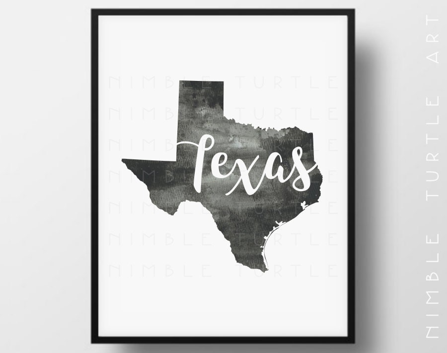It is a photo of Mesmerizing Texas Outline Printable