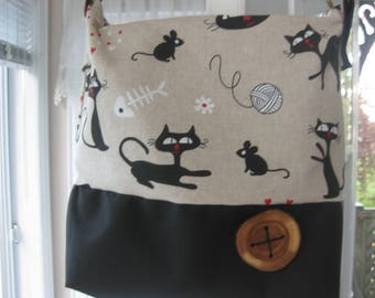 Nice handbag shoulder strap for lovers of cats! women gift