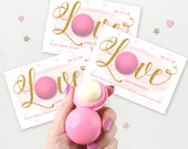 EOS Lip Balm Holders, Bridal Shower Favor, EOS Bridal Shower Favors, EOS Holder, Bachelorette Party Favors, Party Favors, Bridal Shower