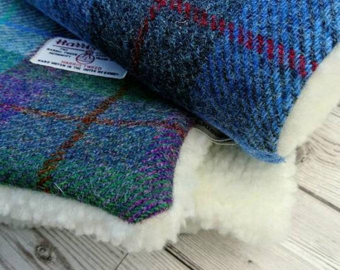Harris Tweed baby blanket