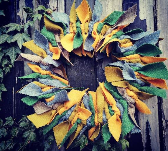 Big Harris Tweed wreath