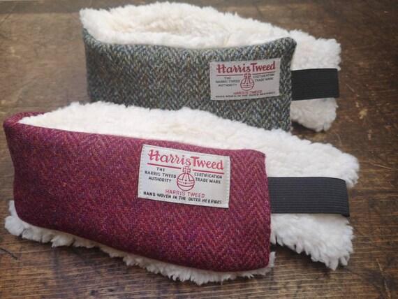 NEW Hand Crafted Harris Tweed headband ear warmers