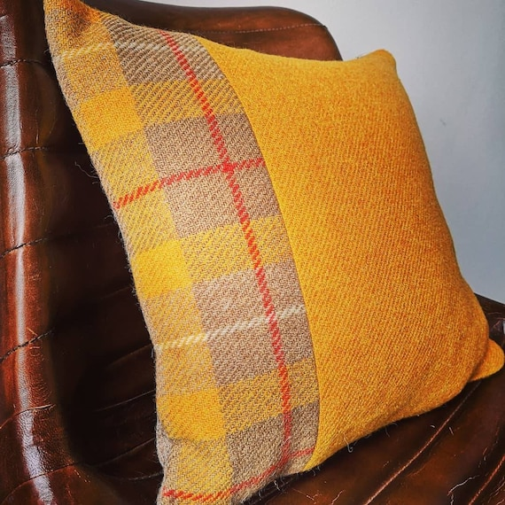 NEW Hand Crafted Harris Tweed Cushion cover