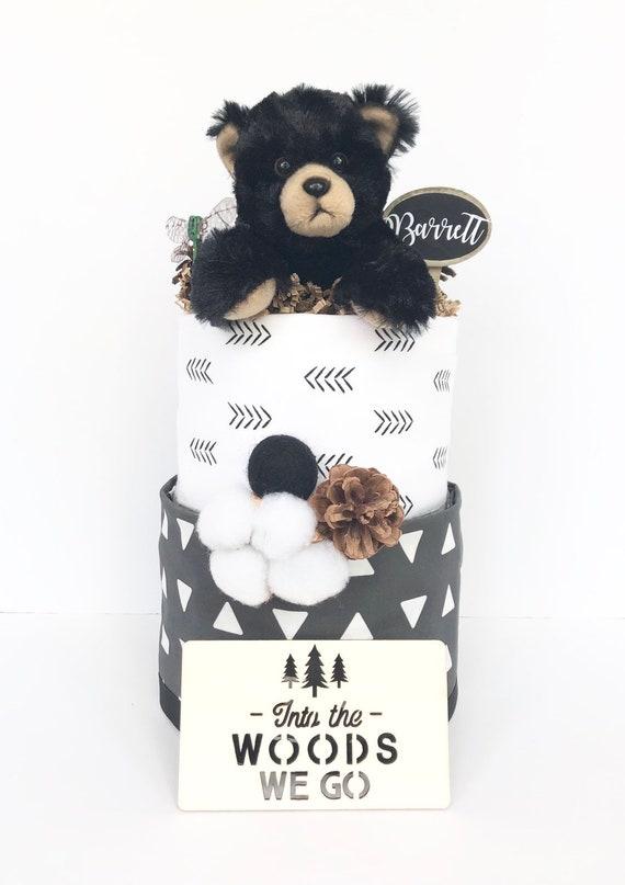 Gander Reveal Gifts Little Bear Trinket Box Baby Shower Gifts Teddy Bear Art
