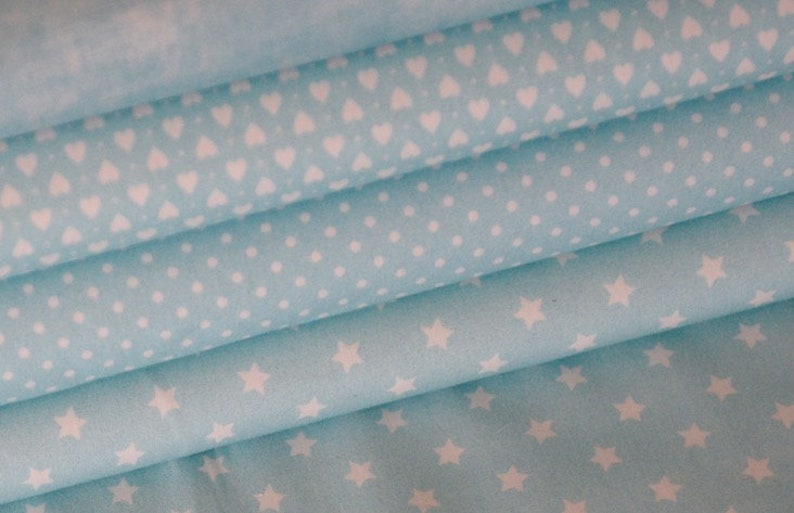Children/'s fabric fabric package cotton star points Hilco 1.6 m jersey knit fabric LIJO