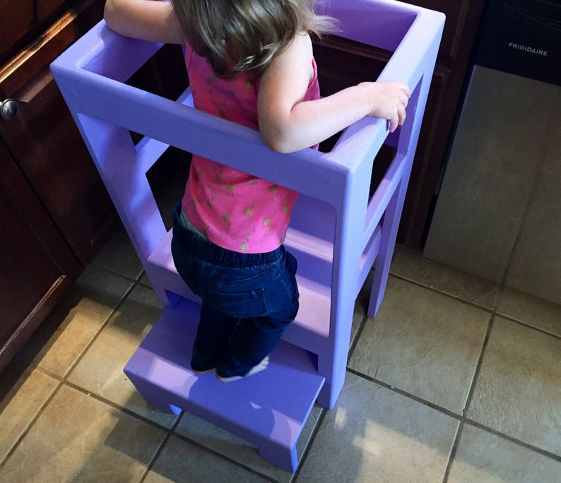 Children/'s Kitchen Play Step Stool Counter High you pick color!
