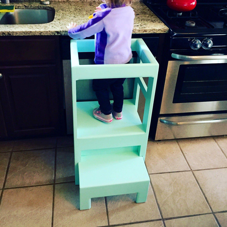 Children\'s Toddler Infant Interactive Kitchen Play Step | Etsy