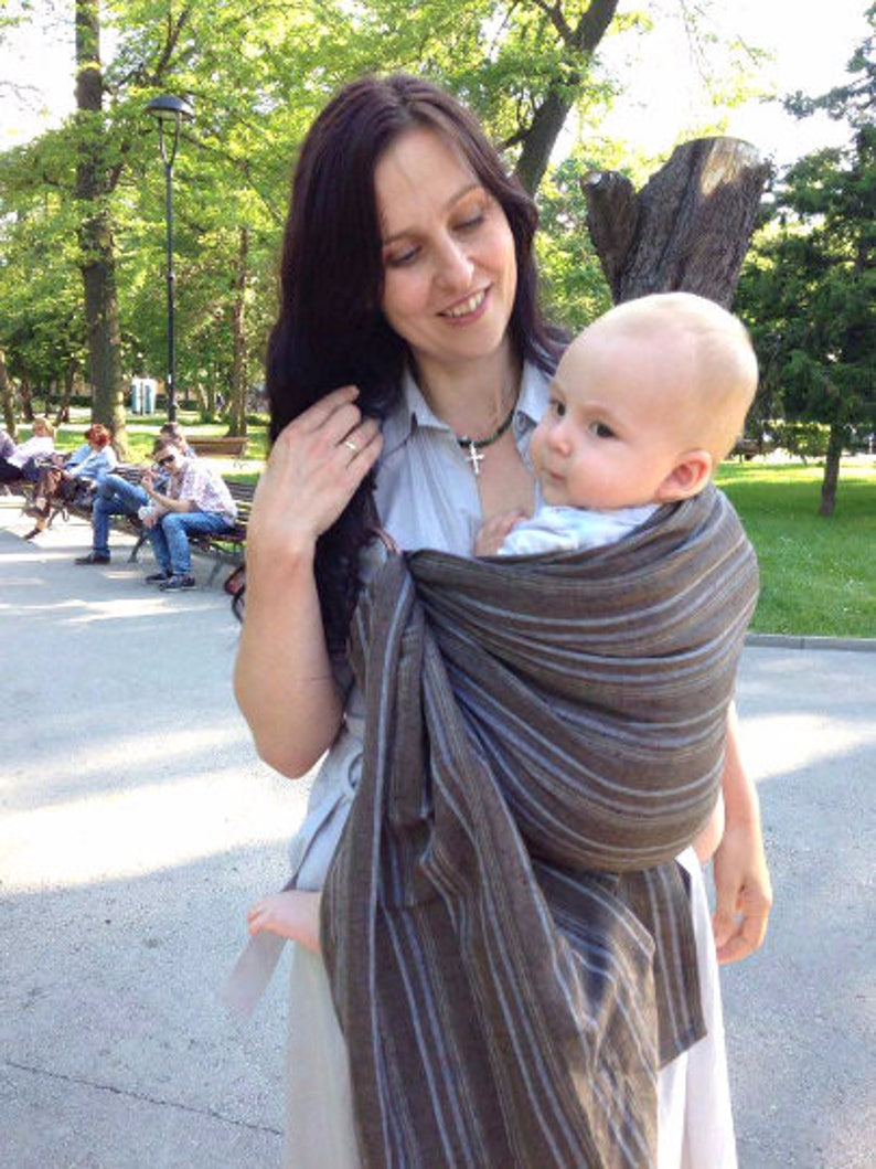 11d18328b55 Ring Sling Baby Sling Rings Baby Carrier Wrap Conversion Baby