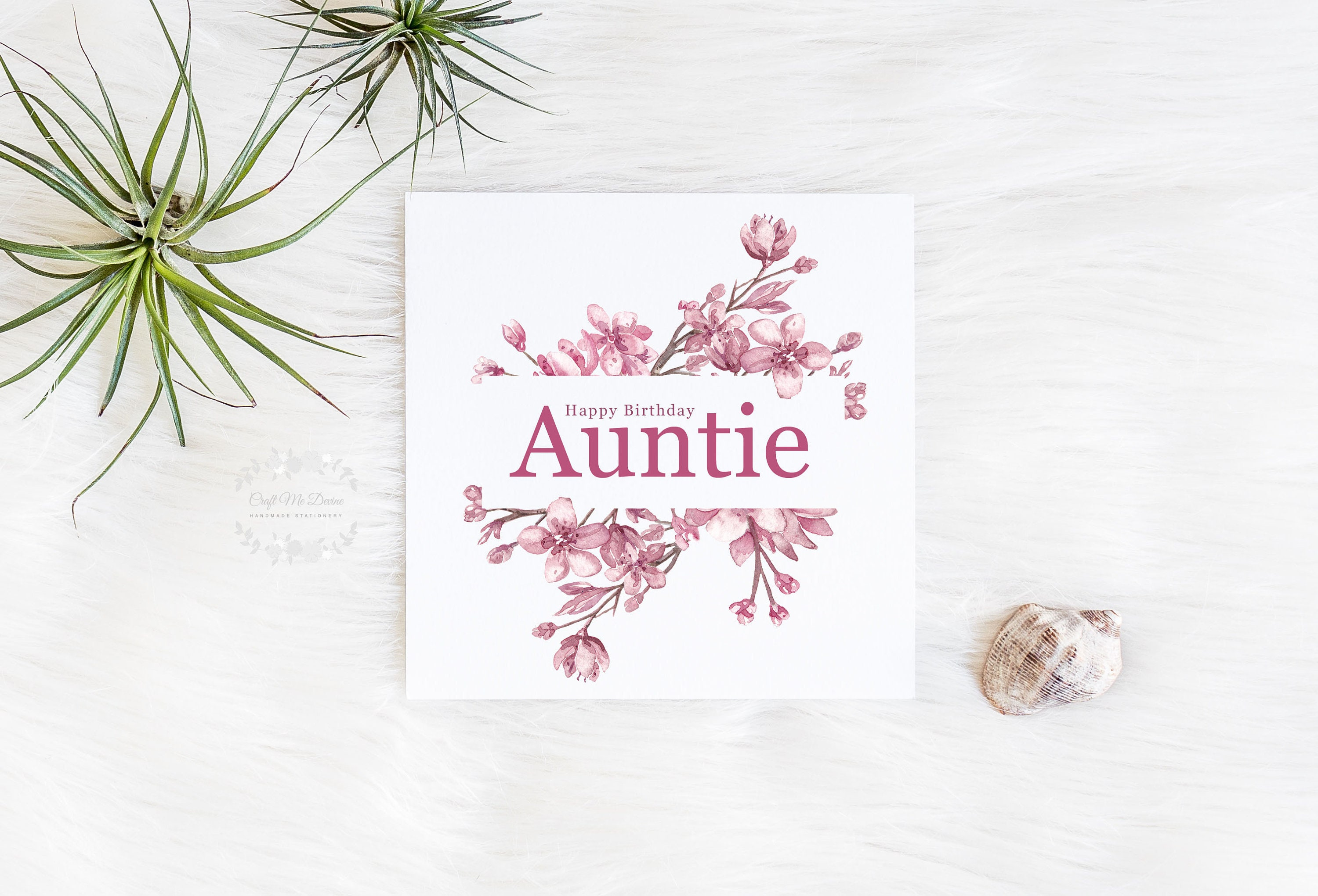 Birthday Card Auntie For