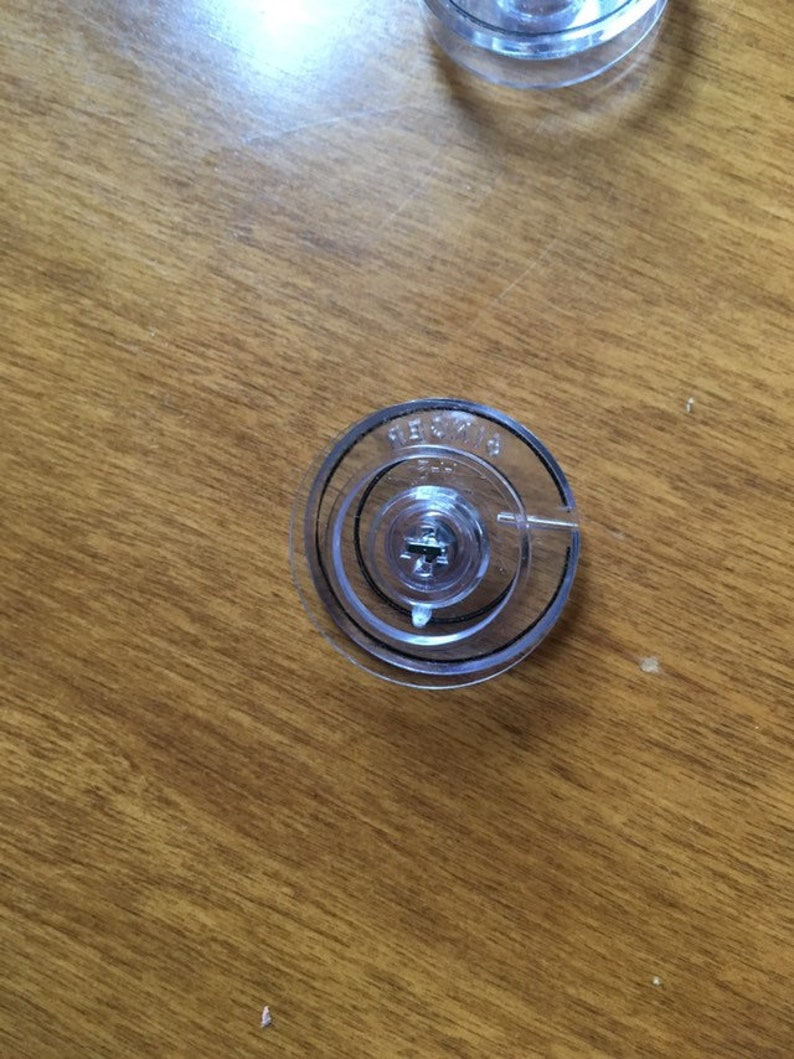 Singer Sewing Machine Bobbins plastic with metal inserts part #312956