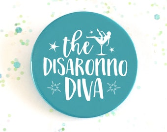 The Disaronno Diva Turquoise Hen Party Badge Cocktail Collection Bachelorette Badge Hen Night Wedding Favour