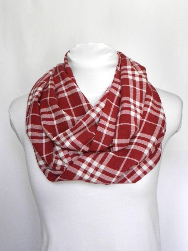 2e437b73047ae Red Plaid Scarf Women / Scarves For Women Plaid Fall Scarf / | Etsy