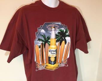 46f2ffea02cf7b CORONA EXTRA BEER Mexico Official Merch -T-Shirt Adult xL t