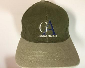 a19d130d9496f0 Ball Cap Adult- SAVANNAH, GEORGIA