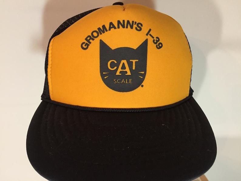 a5615c2d76d41d GROMANN'S I-39 TRUCK Plaza CAT Scale Adult Ball Cap | Etsy