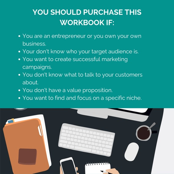 Buyer Persona Template Identify Your Target Market Etsy
