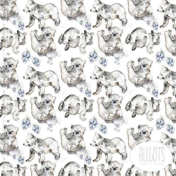 b66e4d4959e Bearhug Organic Cotton Jersey by Allgots | Etsy