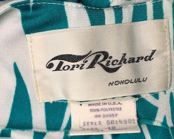 70's Tori Richard Vintage Hawaiin Dress Resort