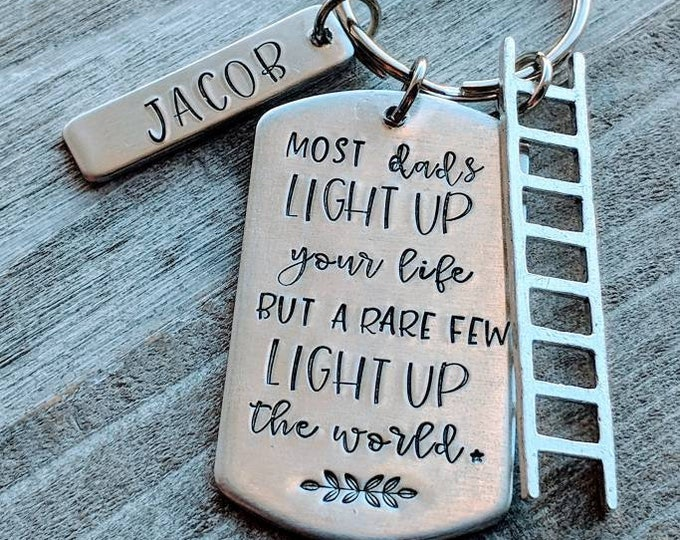 Lineman Dad Light up your life Father's day. Blue collar dad. Husband gift. Electrician.