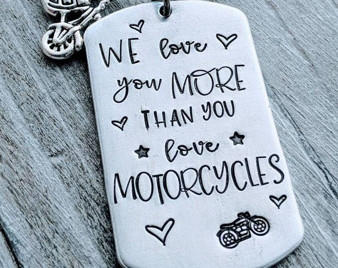 Biker Gift Biker dad Motorcycle lover love motorcycles Gift for dad Fathers day