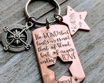 Every Family Has A Story Welcome Keychain Gift For Son In Law Step