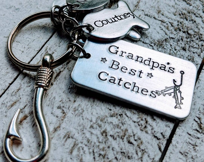 Pappy's Best Catches. Gift for grandpa. Papa father's day. Best catch. Fish hook. My greatest catch. Father's day for grandpa.