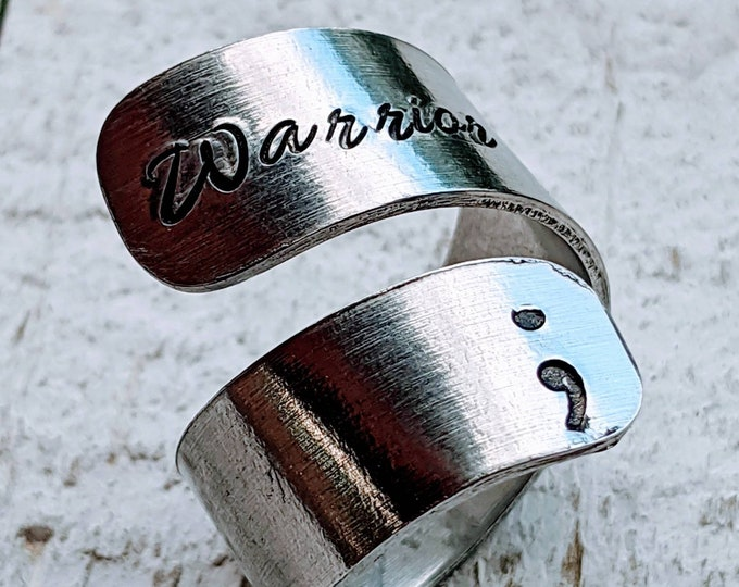Warrior. Warr;or, Warrior ring. Wrap ring. Semicolon movement. Semicolon Project. Depression. Awareness. Mental health. Suicide.