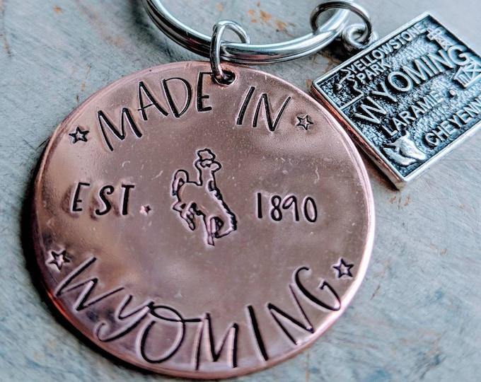 Made in Wyoming. WyHOMEing, Wyoming, USA, The Equality State, 1890. Wyomingite. USA. Buckin bronc. Cowboy. UW. Wyoming Cowboys