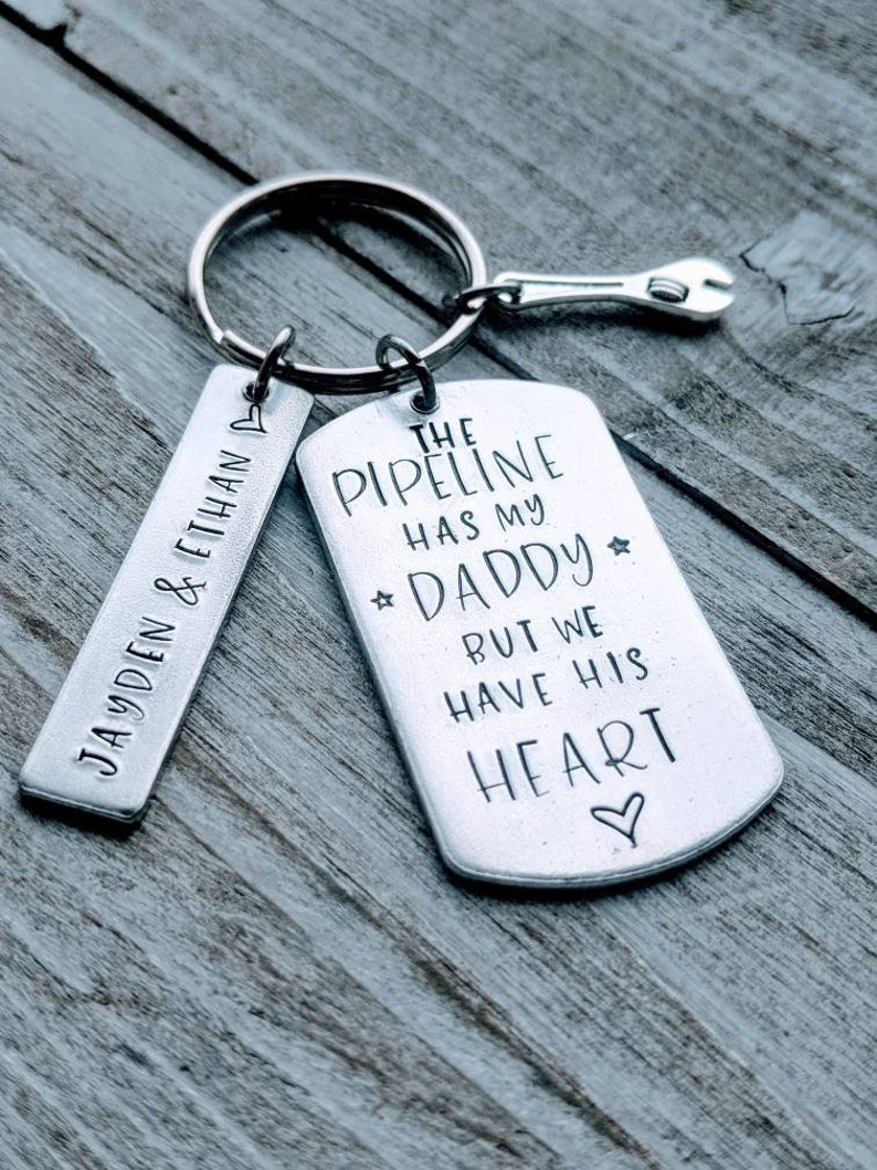 Pipeline dad  The pipeline has my Daddy  We have his heart  Gift for dad   Father's day  Oil  Welding  Pipelining  Frac  Pipeliner  Welder