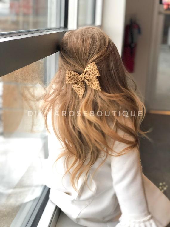 SIMPLICITY nylon headband hair clip easter summer big large spring baby bow newborn toddler girl sailor style bow OVERSIZED