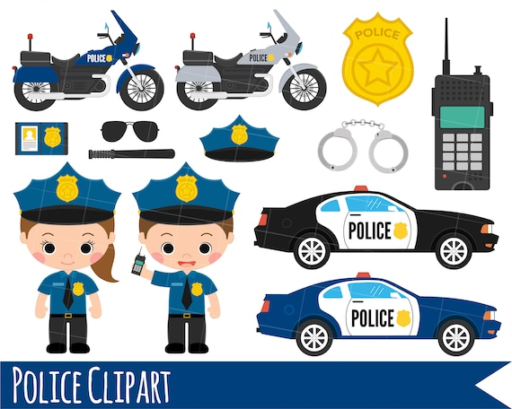 kids police clipart girl and boy police clipart police car etsy kids police clipart girl and boy police clipart police car clipart police bike clipart character clipart instant download vector clipart