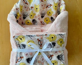pool or beach towel Eeyore Sad donkey inspired hooded bath