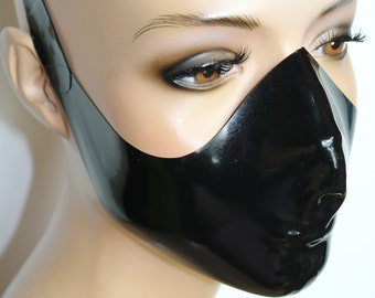 CL Design Latex Mask Ergonomically Shaped Roleplay Fetish Rubber