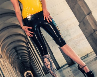 CL design LaTeX Capri pants, latex leggings, 3/4 Pants, latex pants, latex trousers - color choice