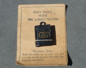 Mini Viewer Holy Bible with the Lords Prayer