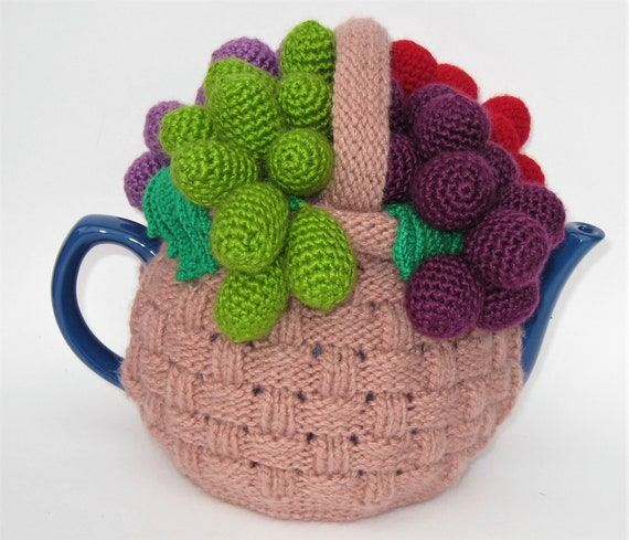 Tea Cosy Tea Cozy Knitted Tea Cosy Teapot Cover Crochet Etsy