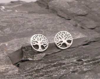 Studs silver, tree of life studs