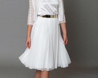 Constant Love® Short Tulle Skirt - Bridal Skirt Bridal Wedding - Registry Office