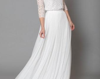 Constant Love® Langer tulle skirt-bridal skirt bride wedding-registry office