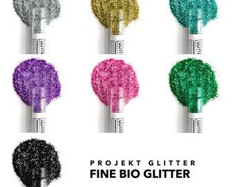Fine Cosmetic Festival Glitter for Face, Body & Hair (Single Tubes)