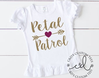 Petal Patrol Shirt - Bridesmaid Shirt - Wedding Shirt - Bridal Party Shirt - Petal Patrol Shirt - Jr Bridesmaid Shirt - Petal Patrol