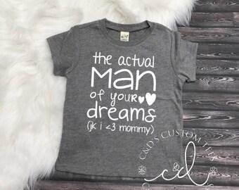 Boys Valentine Shirt - Valentines Day Shirt - Man Of Your Dreams Shirt - Heart Breaker Shirt - Valentines Day Tee - Valentines Day